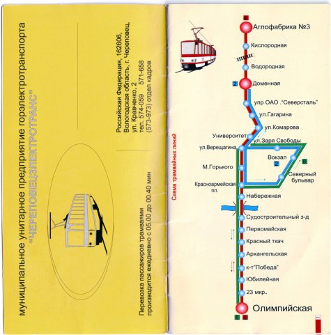 транспорт города Череповца